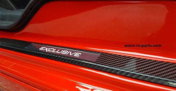 Einstiegsleisten Edelstahl Carbon Optik für BMW X3 E83 2004-2011