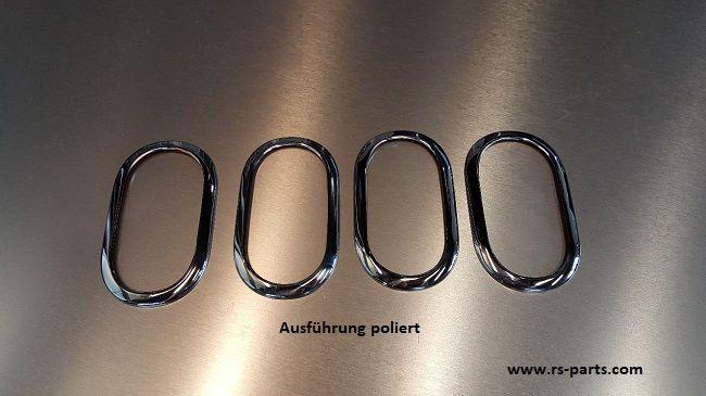 Chrom Edelstahl Türgriffblenden  Türgriff Blende für BMW 1 3 er F30 X3 X4 X5