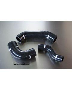 Forge Silikone Schlauch Set schwarz für Smart Brabus ForFour Turbomotoren