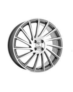 Komplett Radsatz B39 Ferric Grey Poliert Smart ForTwo / ForFour 453