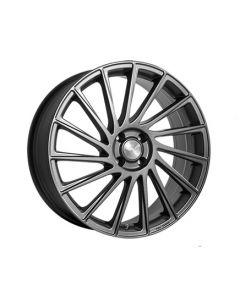 Komplett Radsatz B39 Himalaya Grey Matt poliert Smart ForTwo / ForFour 453