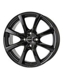 Komplett Radsatz B-LV4 glossy black Smart ForTwo / ForFour 453
