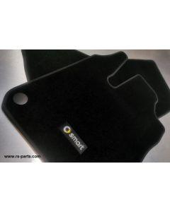 Smart Velour Fußmatten Satz Smart ForTwo Coupe & Cabrio 453
