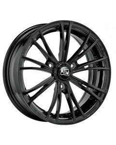 Winterkomplett Radsatz MSW X2 schwarz gloss  Smart 451