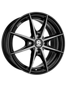 Felgensatz Trofeo black full polished Smart ForTwo / ForFour 453