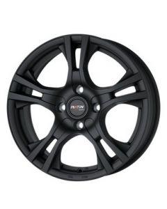 Felgensatz P53 schwarz matt Smart ForTwo / ForFour 453