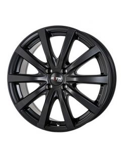Komplett Radstz P69 schwarz matt Smart ForTwo / ForFour 453