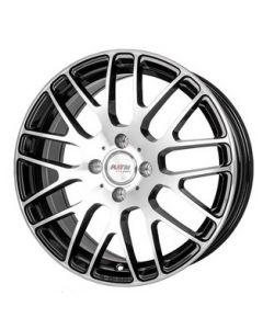 Komplett Radsatz P70 schwarz / Front silber Smart ForTwo / ForFour 453