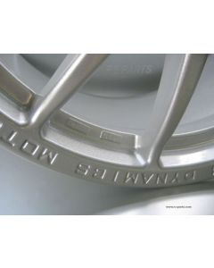 Felgensatz PRORACE 1.2 Glitter Silver VA. 7 x 17 - HA. 9 x 17 Smart Roadster