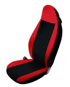 Sitzbezüge Smart 451 rot/anthrazit