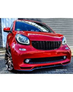 Frontgrill schwarz glanz Smart Fortwo 453