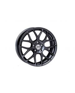 Komplettradsatz HEXANO schwarz metallic mit Bereifung Smart ForTwo / ForFour 453