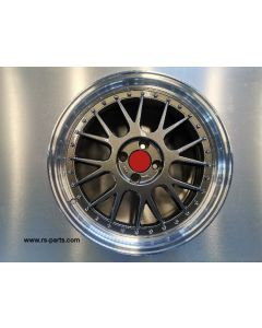 Felgensatz RS-R EVO titanglanz / Horn poliert Smart ForTwo / ForFour 453