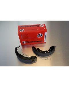 Zimmermann Bremsbacken für die Hinterachse Smart 453