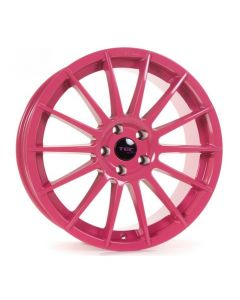 Felgensatz TEC AS2 pink Smart ForTwo / ForFour 453