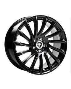 Allwetter Komplettradsatz TN16 black painted  Smart ForTwo / ForFour 453