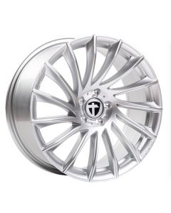 Felgensatz TN16 bright silver Smart ForTwo / Forfour 453