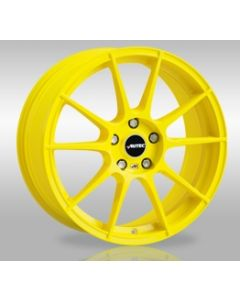 Komplett Radsatz WIZARD Racing Yellow mit Hankook Bereifung Smart 453